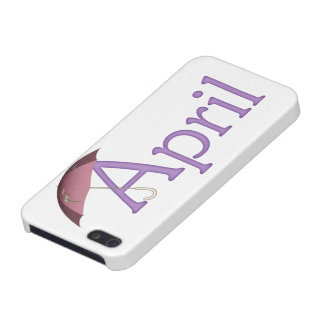 April Birth Month Themed iPhone 5 Case