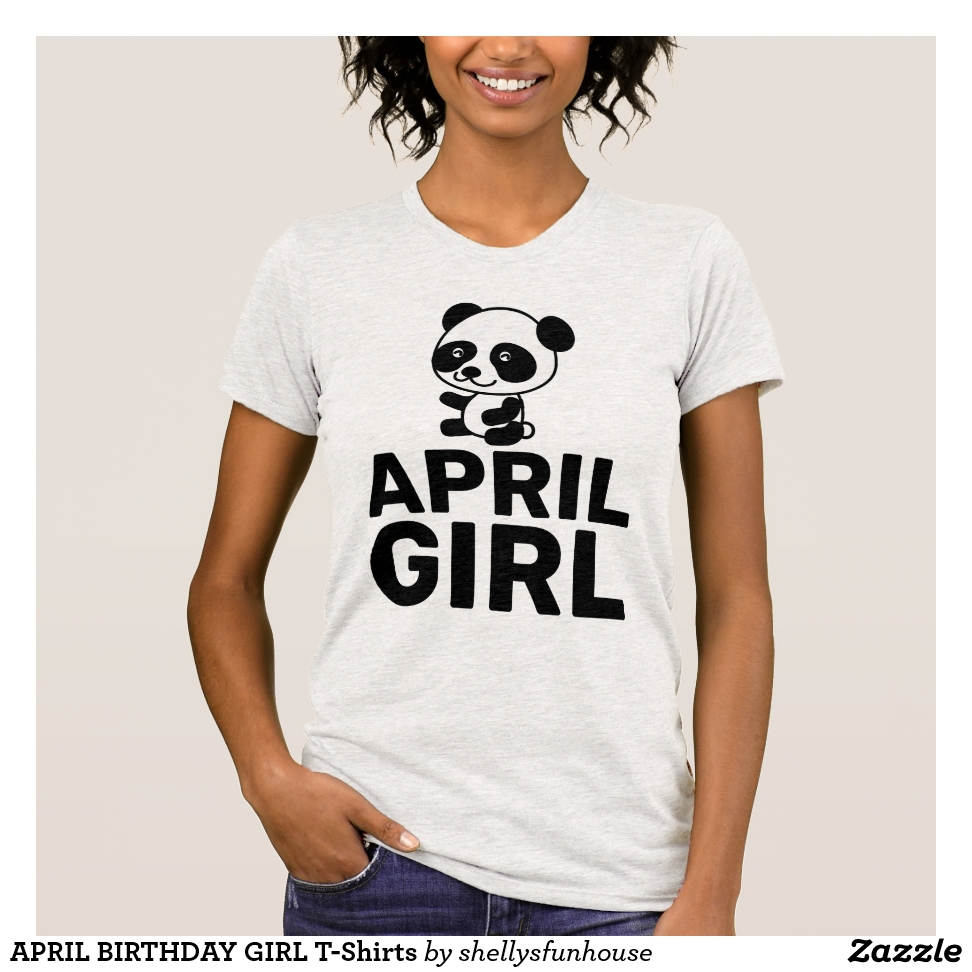 APRIL BIRTHDAY GIRL T-Shirts - Best Selling Long-Sleeve Street Fashion Shirt Designs