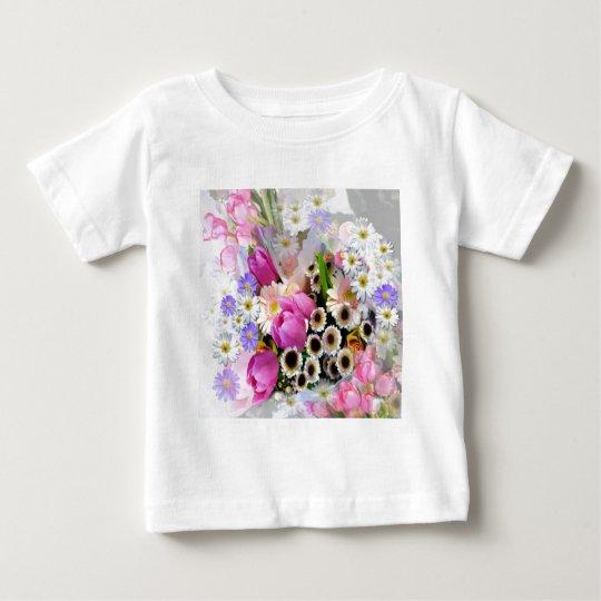 April Bouquet Baby T-Shirt