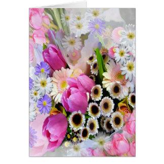 April Bouquet Card
