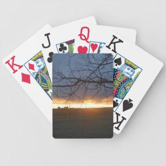 April Colorado Sunset Poker Deck