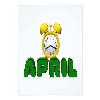 April Countdown Card