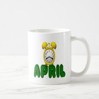 April Countdown Coffee Mug