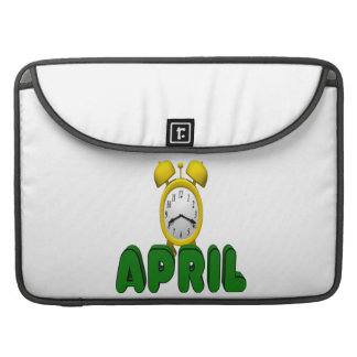 April Countdown Sleeve For MacBooks