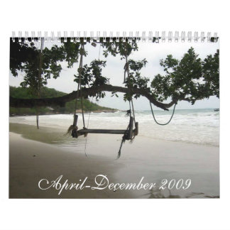 April-December 2009  Calender Wall Calendars
