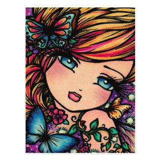April Fairy Postcard