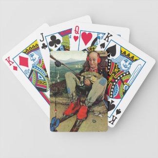 April Fool, 1945 Bicycle Playing Cards
