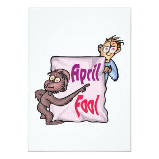 April Fool Card