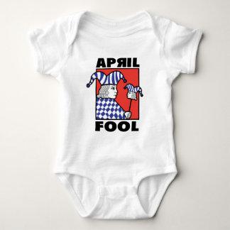 April Fool Joker Baby Bodysuit