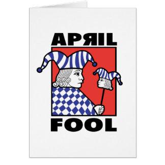 April Fool Joker Card