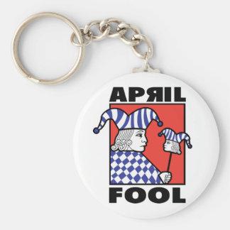 April Fool Joker Keychain