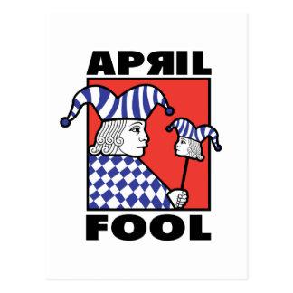 April Fool Joker Postcard