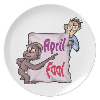 April Fool Plate