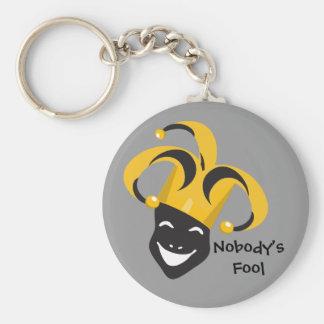 April Fool s Day Keychain