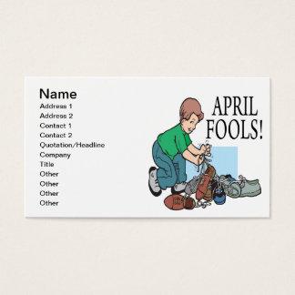 April Fools Business Card