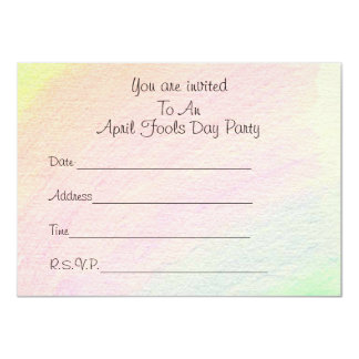April Fools - Card