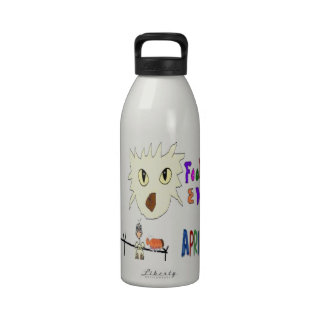 April Fools Day ADD YOUR TEXT Water Bottles