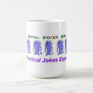 April Fools Day Expert Coffee Mugs