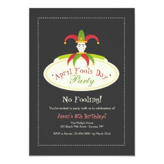 April Fool's Day Invitation