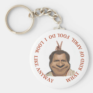 April fools day key chain