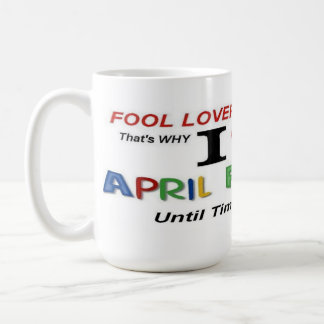 April Fools Day Lovers Mugs