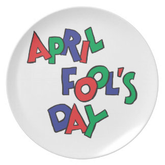 April Fools Day Plate