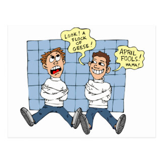 April Fools Day Post Card