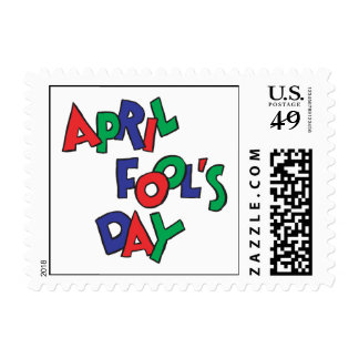 April Fools Day Postage Stamp
