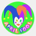 April Fools Day Stickers