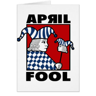 April Fools Greeting Card