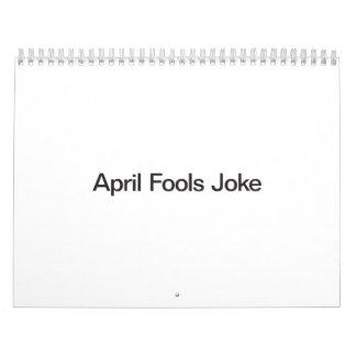 April Fools Joke Calendar