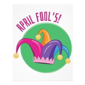 April Fools Letterhead