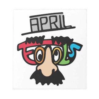 April Fools Notepad