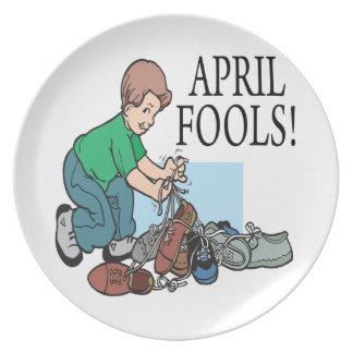 April Fools Plate