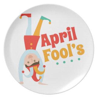 April Fools Party Plates