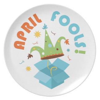 April Fools Party Plate