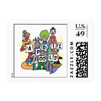 April Fools Postage Stamp
