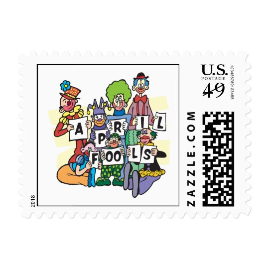 April Fools Postage Stamp