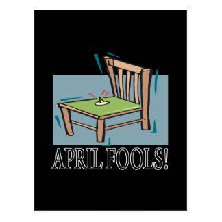 April Fools Postcard
