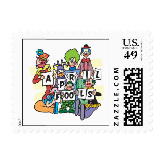 April Fools Stamp