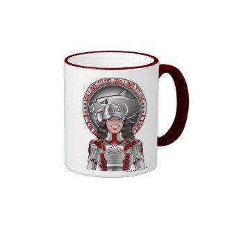 April Hernandez & GS Juniors Motto Ringer Mug