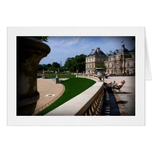 APRIL IN PARIS card