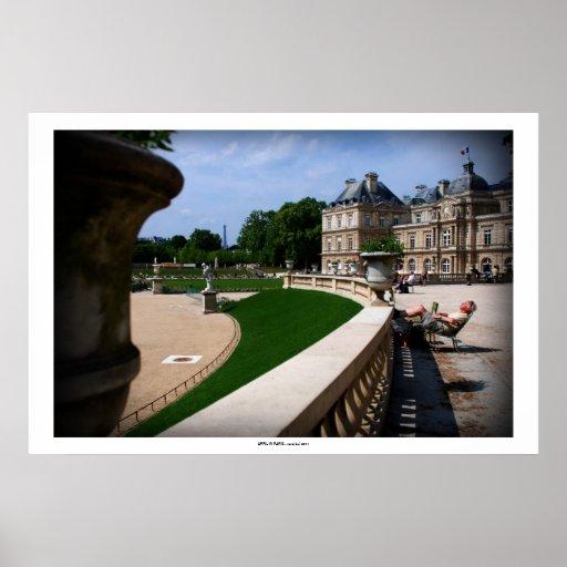 APRIL IN PARIS PRINT
