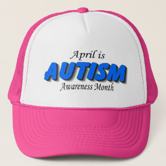 April Is Autism Awareness Month (Blue) Trucker Hat