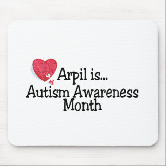 April Is Autism Awareness Month Mouse Pad