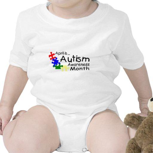 April Is Autism Awareness Month (PP) Bodysuit