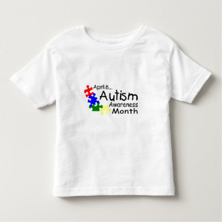 April Is Autism Awareness Month (PP) Tshirt