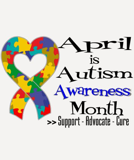April is Autism Awareness Month T Shirts