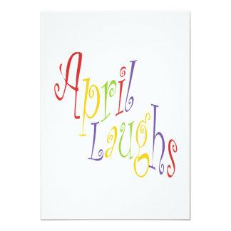 April Laughs 2 Card