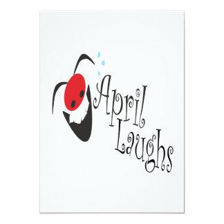 April Laughs Card